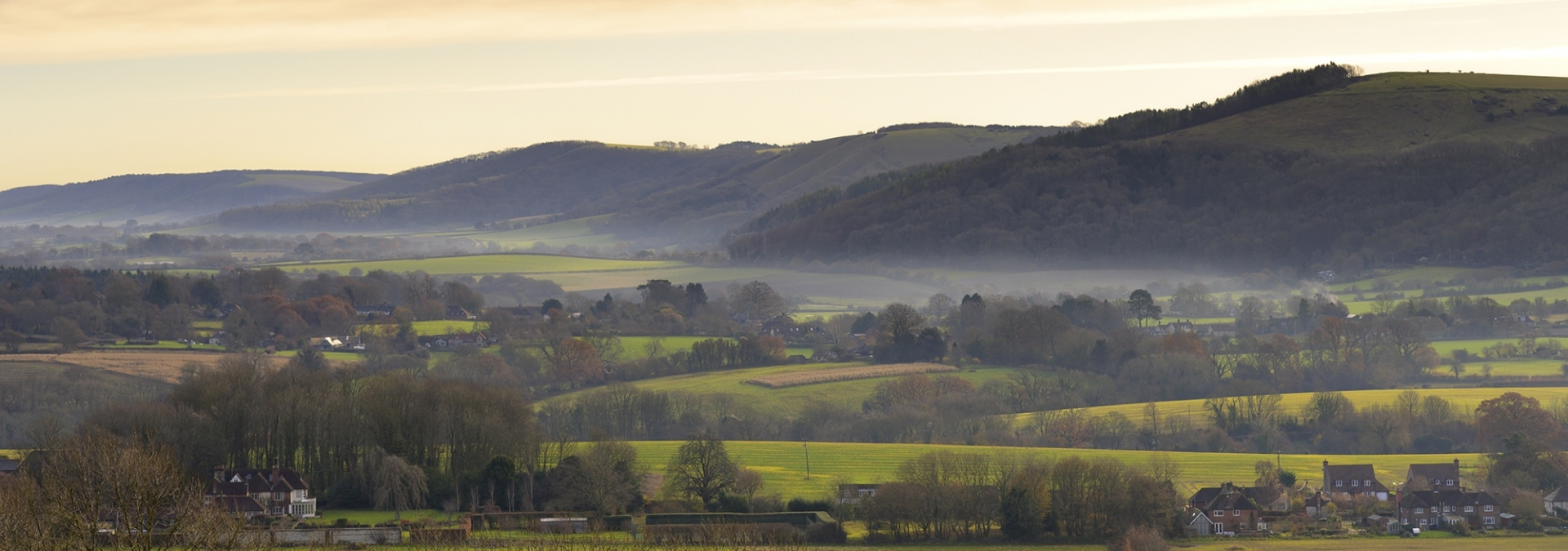 Stunning South Downs scenery